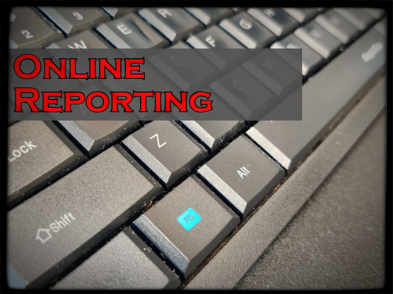 Online Reporting - Note: This uses a PDF Fillable Form