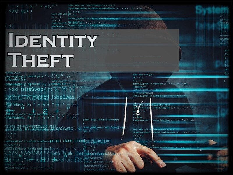 Identity Theft redirect page to the Federal Identity theft website