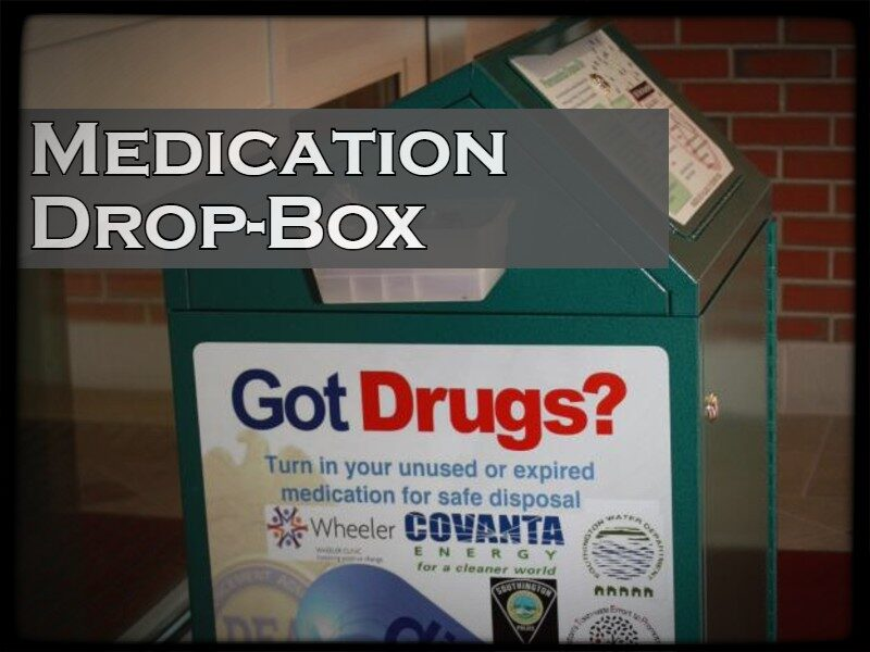 Medication Drop-Box.  This a link to the Southington's Town-Wide Effort to Promote Success' page with information about the Medication Drop-Box