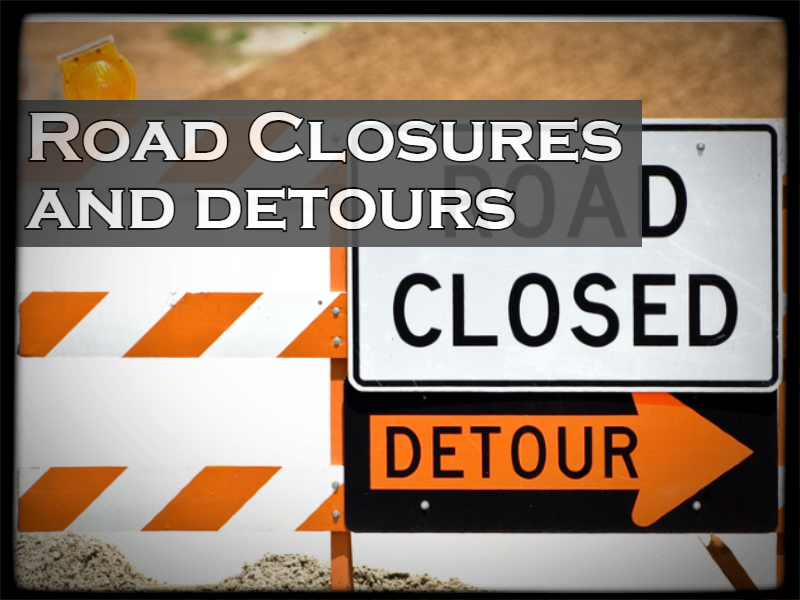 Road Closures and Detours in the Town of Southington